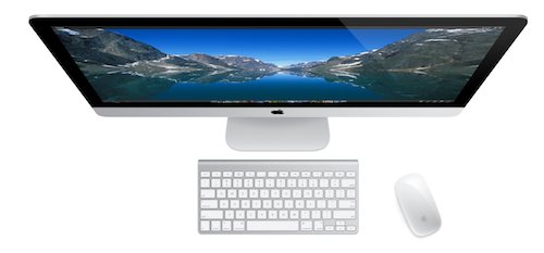 iMac 2013 - GPU Benchmarks vs other Macs