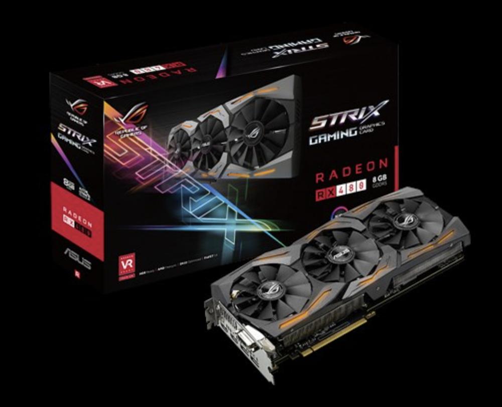 AMD RX 480 in Mac Pro tower running Sierra